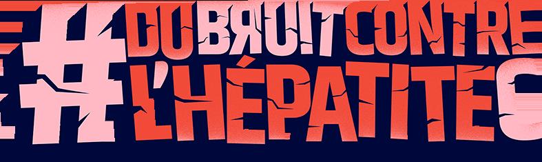 Logo Du bruit contre l'hépatite C