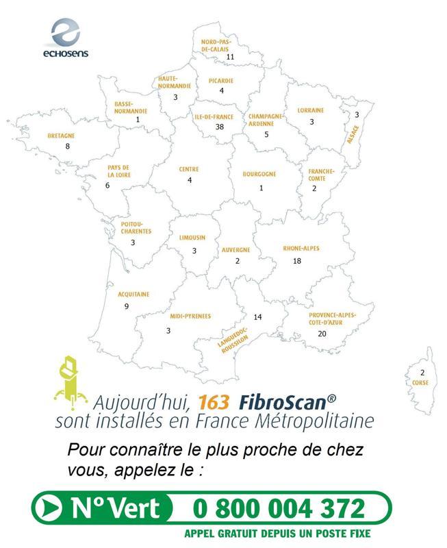 Fibroscan Carte