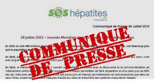 Communiqué de presse – Journée Mondiale contre le SIDA