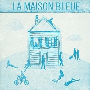 DESSIN MAISON BLEUE