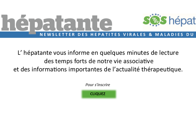NEWSLETTER 2 par l'équipe de SOS HEPATITES