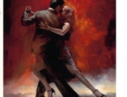 New-Modern-Vintage-Portrait-Oil-Paintings-Painting-Canvas-Lover-Tango-Dance-Art3
